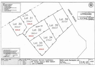 Lot 35 48 Hanlen Avenue - Proposed subdivision Waihi Beach property image