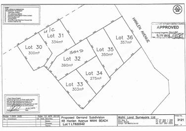 Lot 33 48 Hanlen Avenue - Proposed subdivision Waihi Beachproperty carousel image