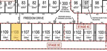 Lot 108 Freedom Drive Kelvin Grove property image